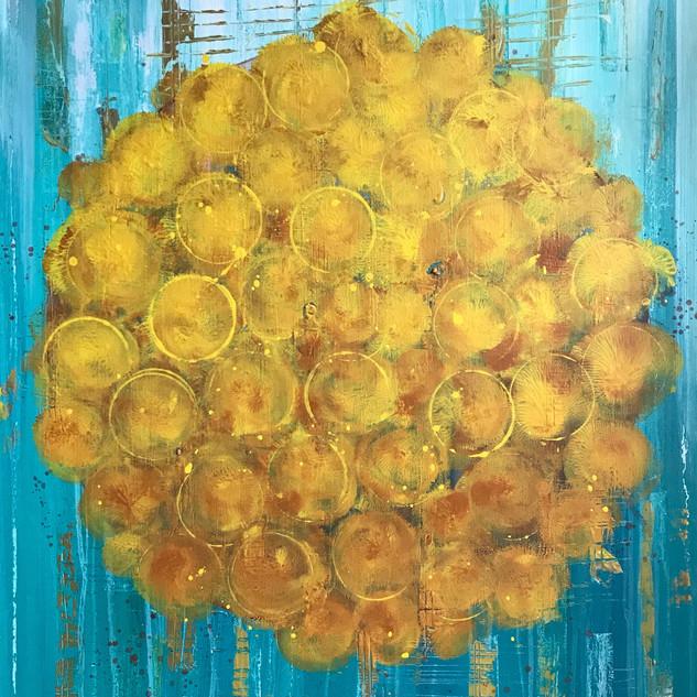 marigold sun - SOLD