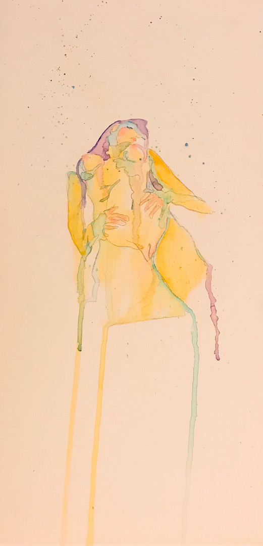watercolor figure study [SOLD]