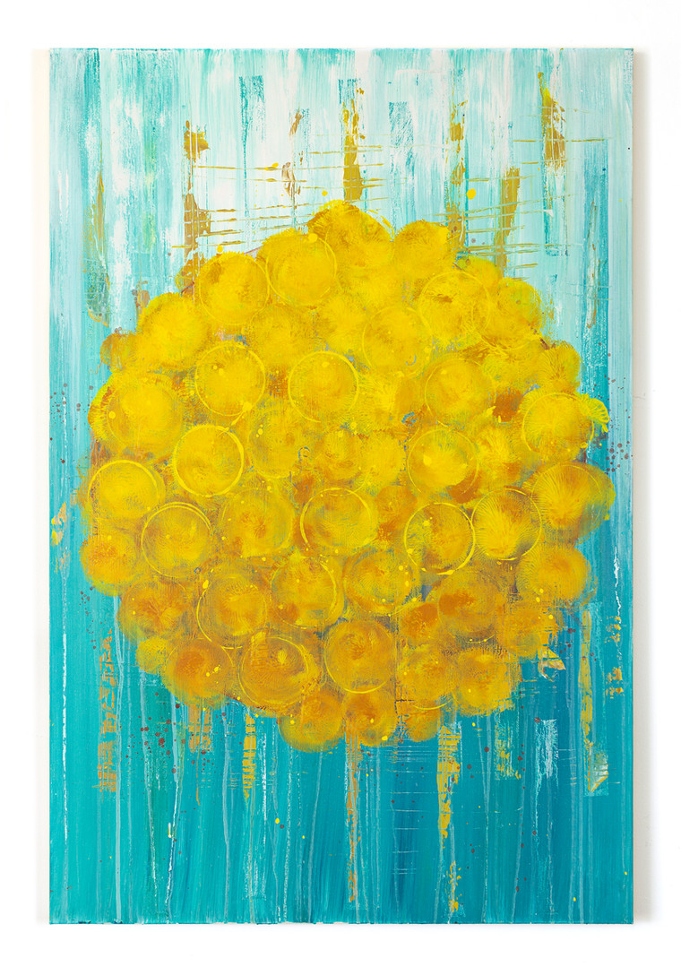 "Marigold Sun 24x36"" [SOLD]"