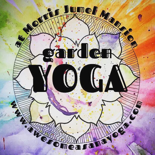 Logo for Awesome Asana Yoga at Morris Jumel Mansion