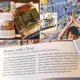 Feature in Veranda Magazine for Awesome Asana Project