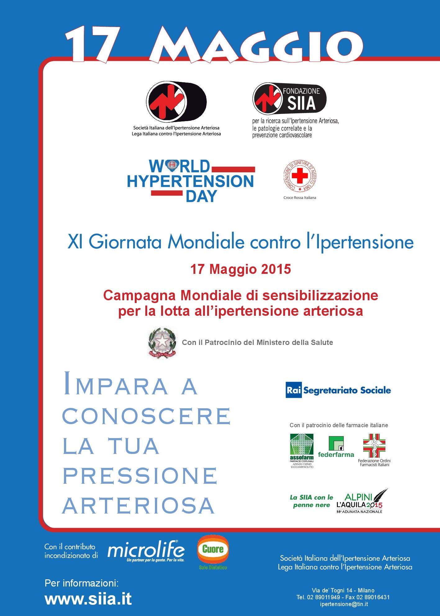 XI Giornata contro l'ipertensione
