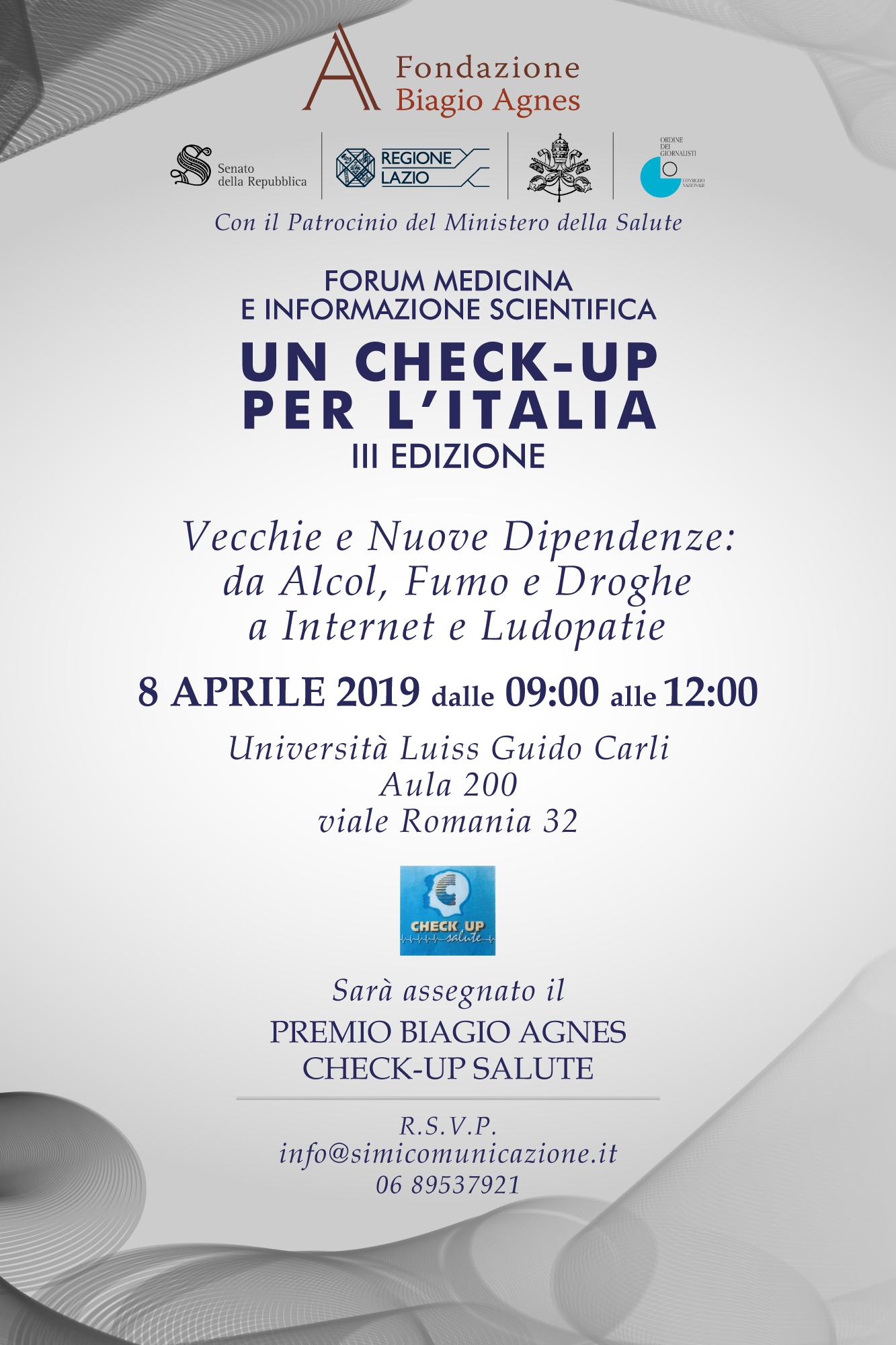 Invito Ufficiale Forum 8 aprile