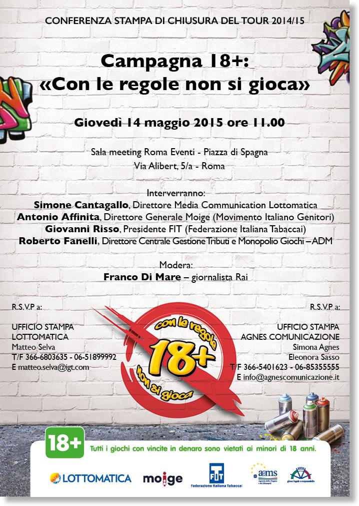 Conferenza stampa Lottomatica