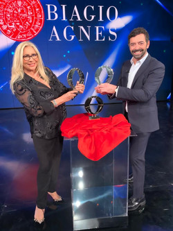 Mara Venier e Alberto Matano