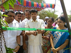 paddy center opening dist collector & JC