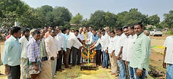 Paddy center opening at Gudur