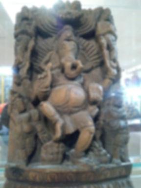 Medusa Ganesha wood old.jpg