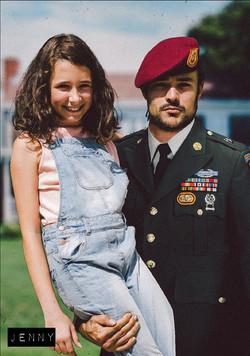 John et sa fille