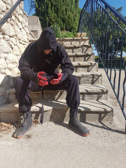 Stuntman Cinturiwolf Albert-Antony Cintu