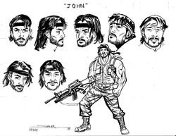 Croquis BD - John