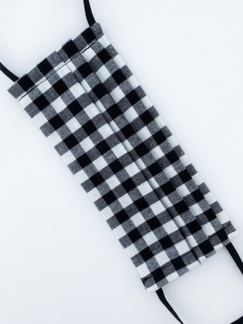 Large Black & White Gingham