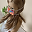 "Thumbnail: 18"" Doll Mask and Scrunchie Set - Garden Party"
