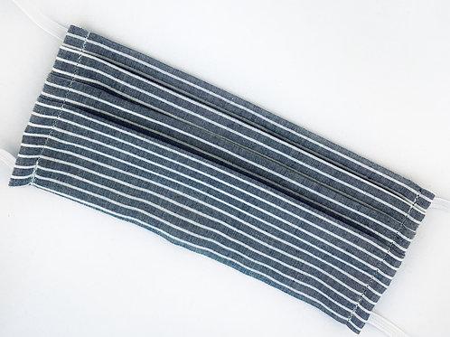 Gray Chambray Stripe