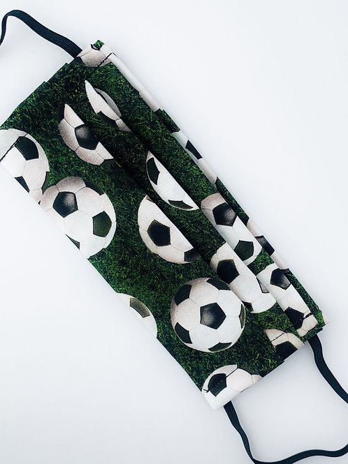 Soccer Balls on Grass