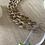 Thumbnail: Light Brown/Ivory Tortoise Acrylic Chain