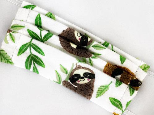 Sleepy Sloth Flannel