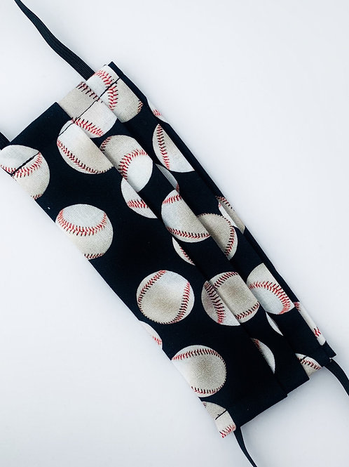 Baseballs on Black