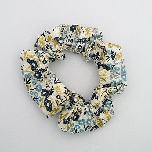 Rifle Paper Co. Golden Blue Metallic Floral