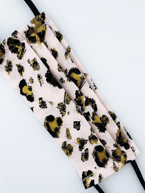 Pink & Gold Leopard