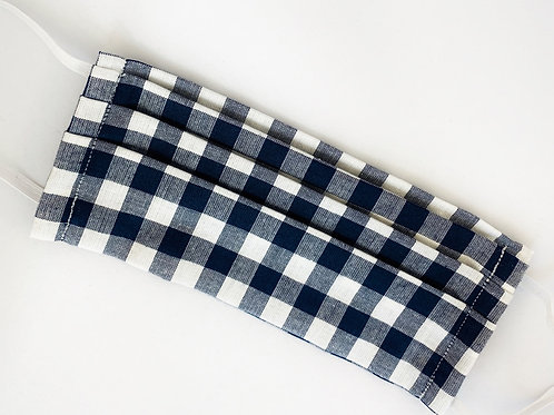 Large Navy Gingham