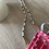Thumbnail: White Pearl Multi-Color Beaded Chain