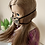 """Thumbnail: 18"""" Doll Mask and Scrunchie Set - Small Leopard"""