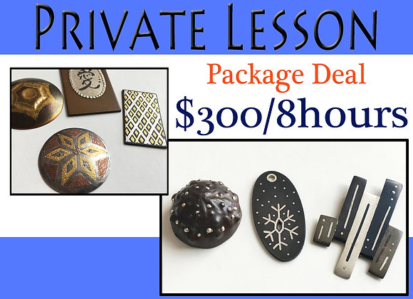 Private Lesson: 8-hour Package   √
