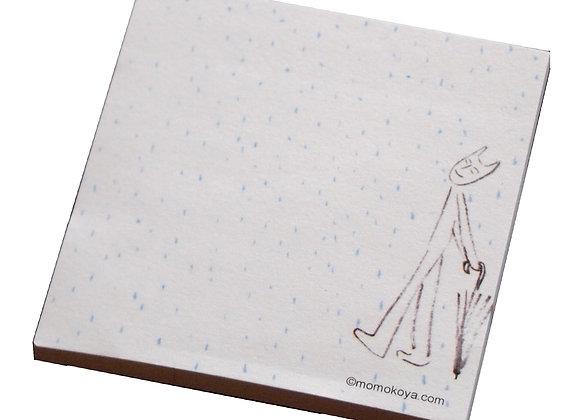 Momokoya Sticky Note - Rain     √