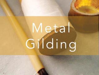 Metal Gilding Workshop!