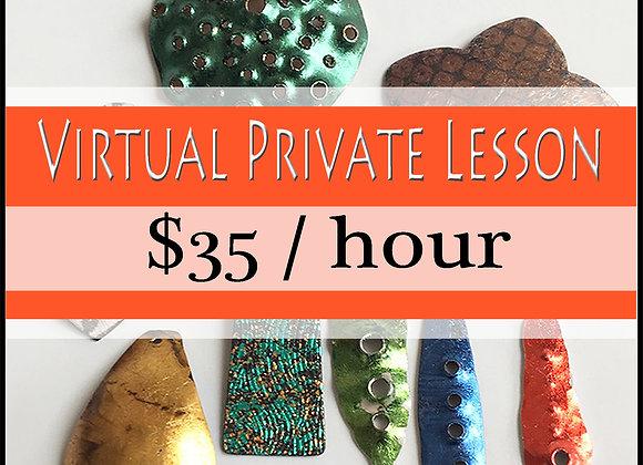 Virtual Private Lesson: 1 Hour session  √