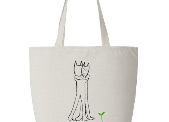Momokoya Tote Bag - Hugs  √