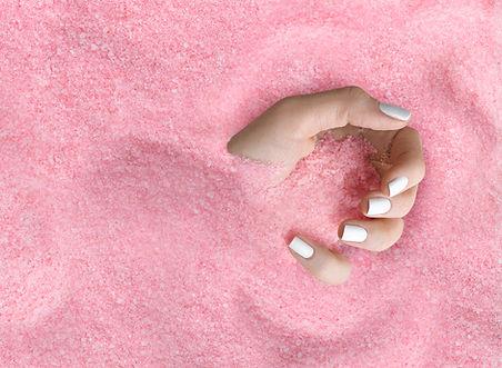 Le sucre rose