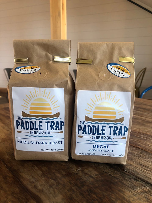 The Paddle Trap signature ground coffee