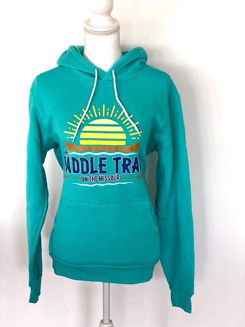 Teal hoodie