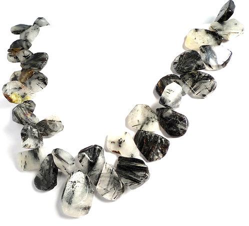 Terminated Quartz 3 Dimensional Necklace