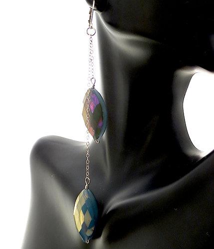 Aurora Chandelier Drop Earrings