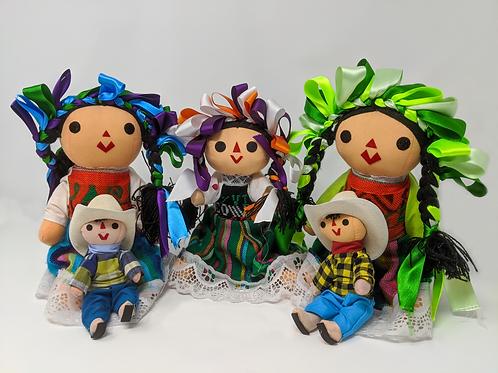 Aztecas Handmade Dolls