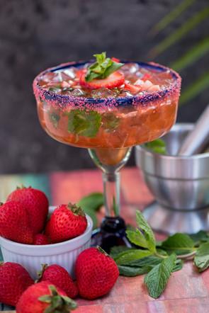 Strawberry-Mojito Margarita