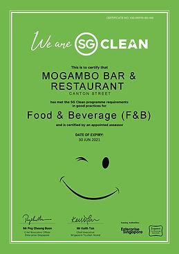 SG Clean_Certificate_ESG-049745-001-460-