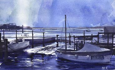 Norfolk Broards painting by Paul Clark