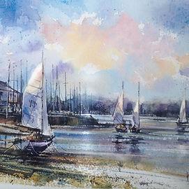 Watercolour by Paul Clark