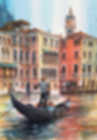 Venice painting by Paul Clark