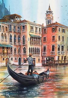 Venice painting by Paul Clark