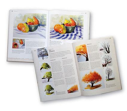 Paul Clark Watercolour book