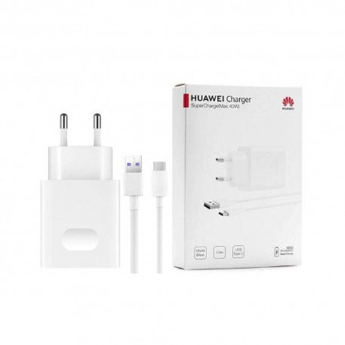 Chargeur Huawei + câble 1m superchargeur 40w