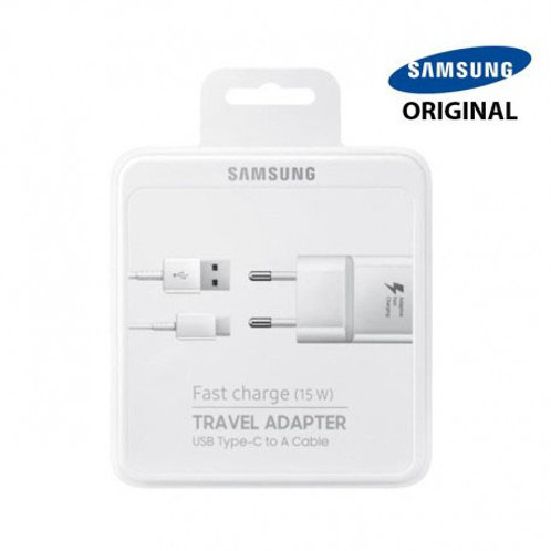 Chargeur Samsung Fast Charge + câble 1m