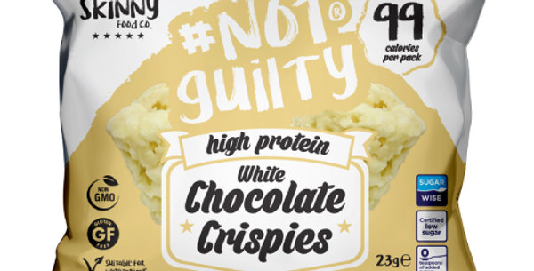 White Chocolate Crispies - High protein snack