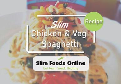 Slim Spaghetti: Chicken & Vegetable Style