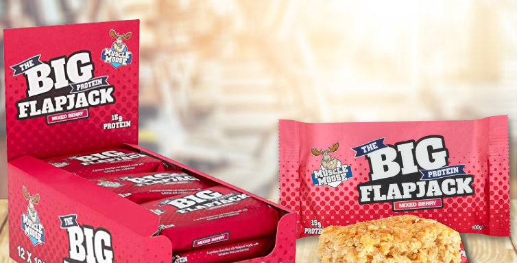 Mixed Berry Flapjack Healthy Protein Bar